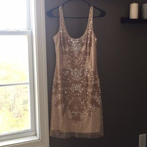 Cocktail Dress in Champagne/Blush